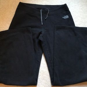 The North Face fleece sweatpants